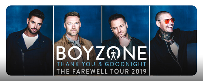 Boyzone: VIP Tickets + Hospitality Packages - Manchester Arena.