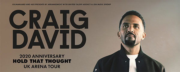 craig david, manchester arena, vip tickets and hospitality packages