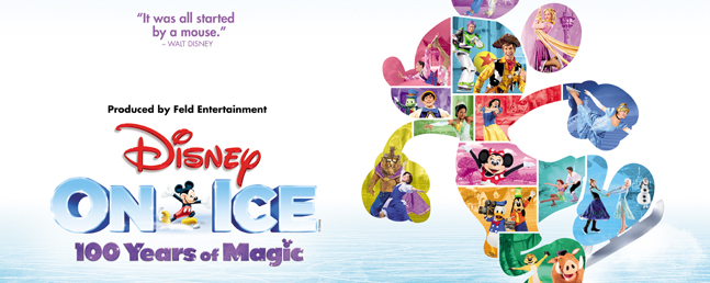 Disney on Ice - 100 years of magic: VIP Tickets + Hospitality Packages - Manchester Arena