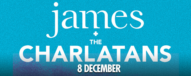 James + The Charlatans: VIP Tickets + Hospitality Packages - Manchester Arena.
