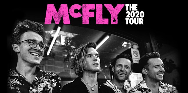 mcfly - vip tickets and hospitality packages, manchester arena