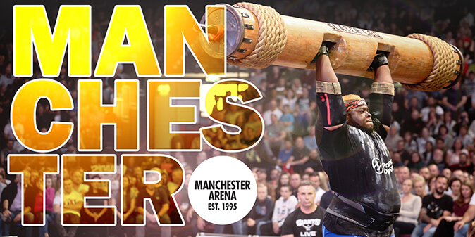 World`s Strongest Man Tour Finals 2019: VIP Tickets + Hospitality Packages - Manchester Arena