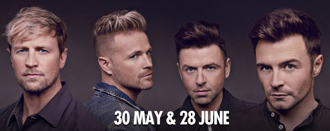 Westlife: VIP Tickets + Hospitality Packages - Manchester Arena.